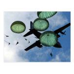 Mass Jump Mission, Parachutes, U.S. Army Postcard