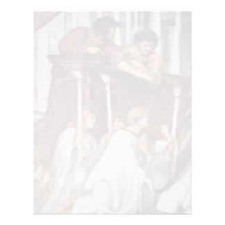 Mass Of Bolsena Detail By Raffael (Best Quality) Letterhead Design