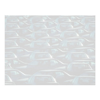 Mass of imported cars in storage depot, Toronto, O Customized Letterhead