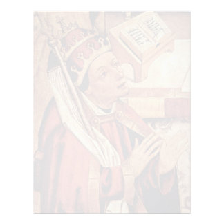 Mass Of St. George Detail By Mittelrheinischer Mei Custom Letterhead