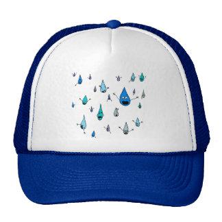 Mass Raindrop Death Trucker Hat