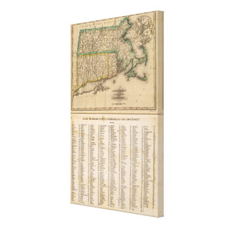 Mass, Rhode Island, Connecticut Canvas Print