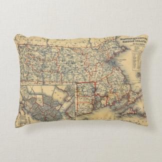 Mass, RI Accent Pillow