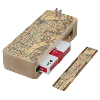 Mass, RI Maple Cribbage Board