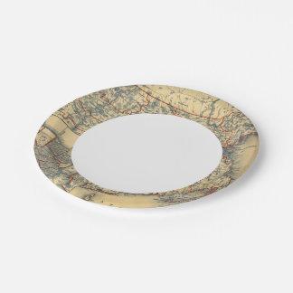 Mass, RI Paper Plate