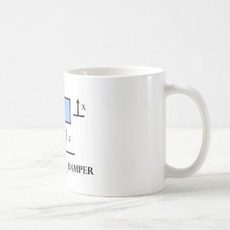 Mass Spring Damper (Physics) Coffee Mug