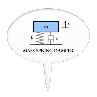 Mass Spring Damper (Physics Diagram) Cake Topper