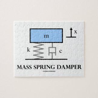 Mass Spring Damper (Physics Diagram) Jigsaw Puzzle