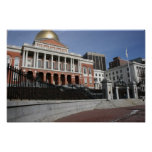 Mass State House Print