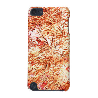mass succulent invert orange abstract pattern iPod touch (5th generation) cover