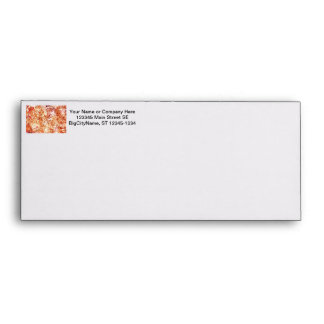 mass succulent invert orange abstract pattern envelopes