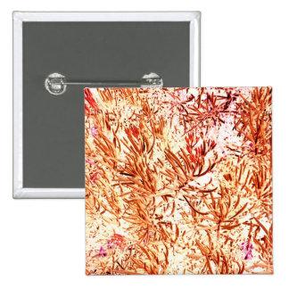 mass succulent invert orange abstract pattern pin