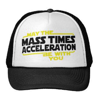 Mass Times Acceleration Trucker Hat