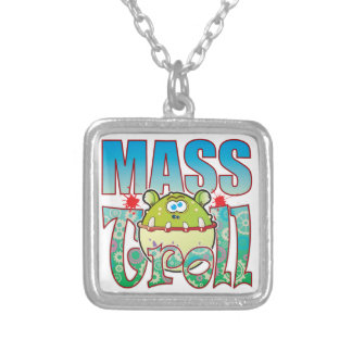 Mass Troll Square Pendant Necklace