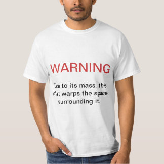 Mass Warning Tshirts