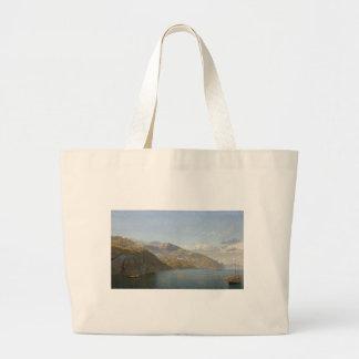 Massa Bay Of Naples by John Brett Large Tote Bag