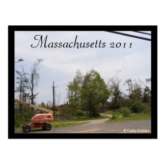 Massachusetts 2011 postcard