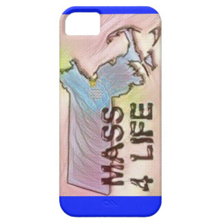 """Massachusetts 4 Life"" State Map Pride Design iPhone SE/5/5s Case"