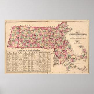 Massachusetts 6 poster