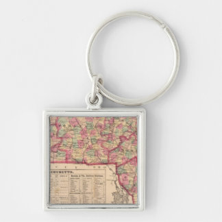Massachusetts 8 keychain