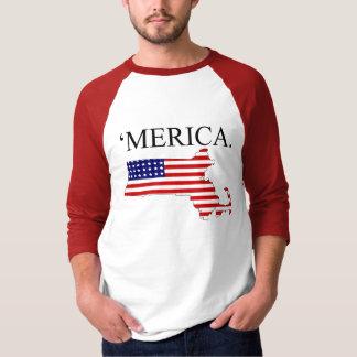 Massachusetts América Remera