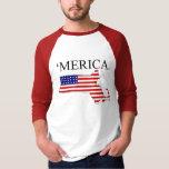 Massachusetts America Tee Shirts