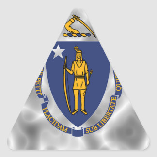 Massachusetts Art Triangle Sticker