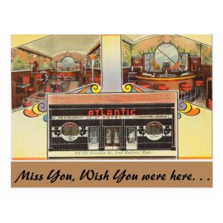 Massachusetts, Atlantic Hotel, New Bedford Postcards