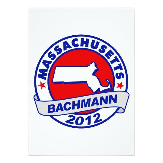 Massachusetts Bachmann Card