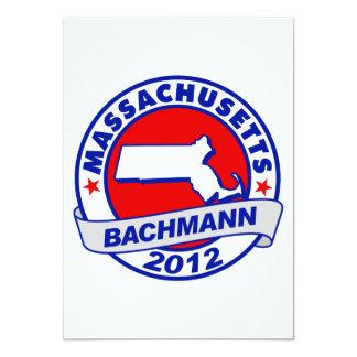 Massachusetts Bachmann Custom Invitations