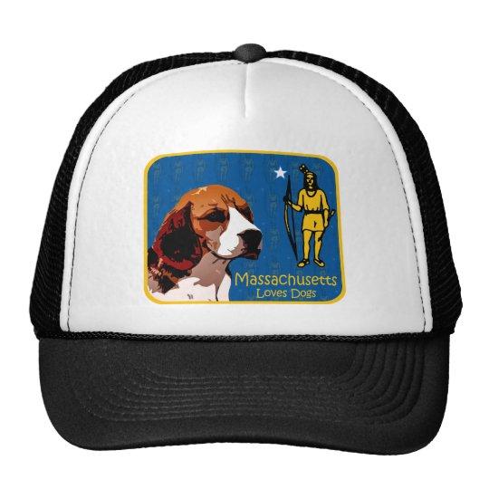 Massachusetts Beagle Trucker Hat