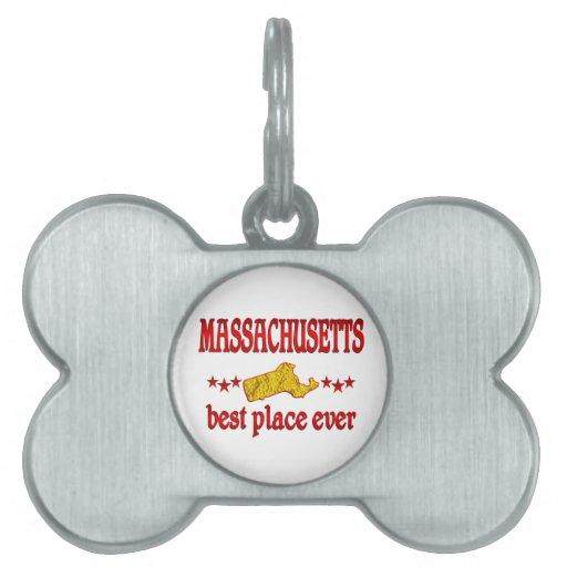 Massachusetts Best Pet ID Tag