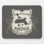 Massachusetts Birder Mouse Pads