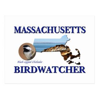 Massachusetts Birdwatcher Postcard