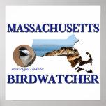 Massachusetts Birdwatcher Posters