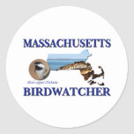 Massachusetts Birdwatcher Stickers