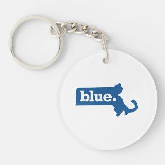 MASSACHUSETTS BLUE STATE KEYCHAIN