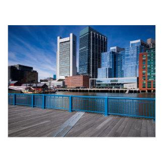 Massachusetts, Boston, Federal Reserve ejerce la Tarjeta Postal