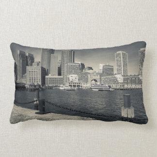 Massachusetts, Boston, Rowe's Wharf buildings Lumbar Pillow