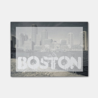 Massachusetts, Boston, Rowe's Wharf buildings Post-it Notes