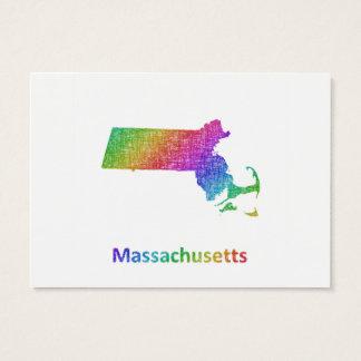 Massachusetts Business Card