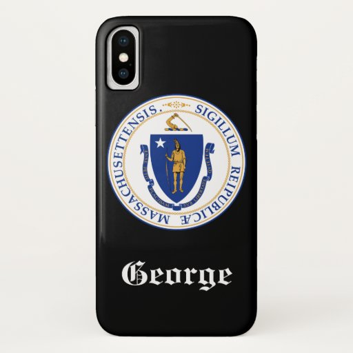 Massachusetts iPhone XS Case