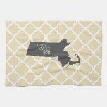 Massachusetts casero dulce casero toalla de cocina