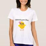 Massachusetts Chick T-shirts