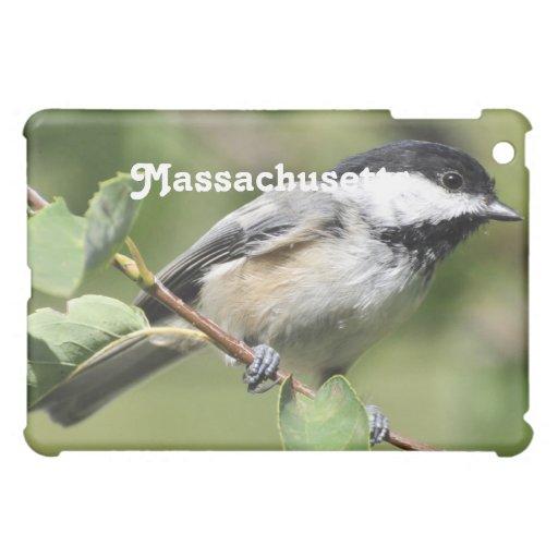 Massachusetts Chickadee Cover For The iPad Mini