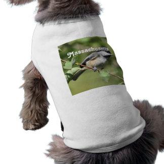 Massachusetts Chickadee Pet Tee