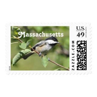 Massachusetts Chickadee Stamp