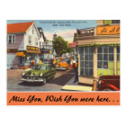 Massachusetts, Commercial St. Provincetown Postcard