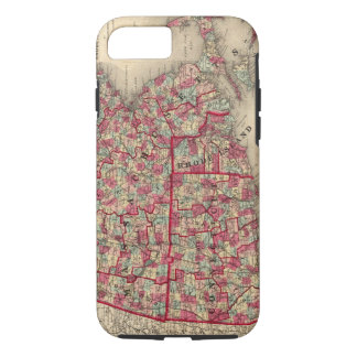 Massachusetts, Connecticut, and Rhode Island iPhone 7 Case