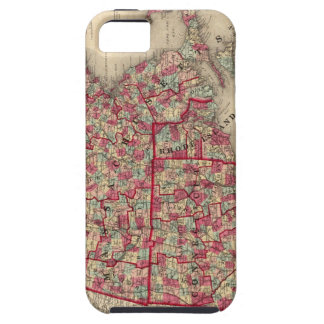 Massachusetts, Connecticut, and Rhode Island iPhone SE/5/5s Case